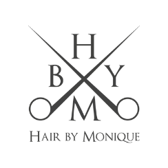 Logo bedrijf Hair By Monique